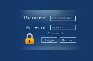 Username and Password Login Screenshot
