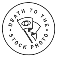 Death to the Stock Photo Logo