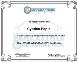 REW Webographer Professional Certificate
