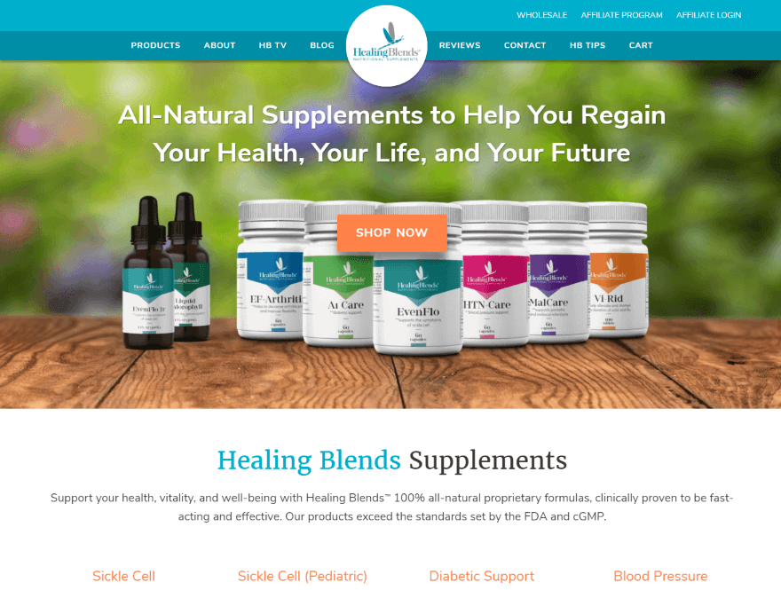 HBG – Natural Supplements