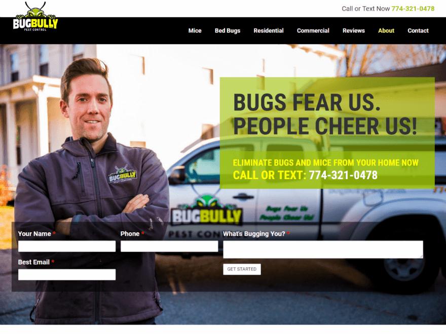 Pest Control WordPress Websites