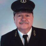 James Hyland in uniform