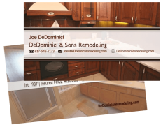 DeDominici Remodeling Business Card