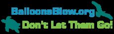 Balloons Blow - Horizontal Logo