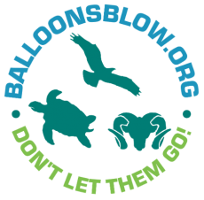Balloons Blow - Round Logo