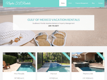 Vacation Rental WordPress Website Development